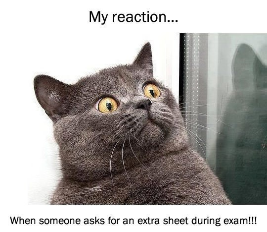 extra-sheet-during-exam