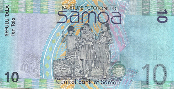 Beautiful Currency Notes samoa
