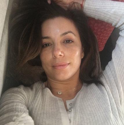 Hollywood No Makeup Selfies Eva