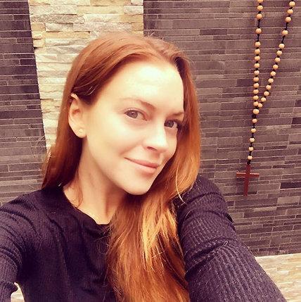 Hollywood No Makeup Selfies Lindsay