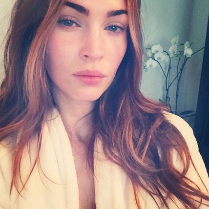 Hollywood No Makeup Selfies Megan Fox