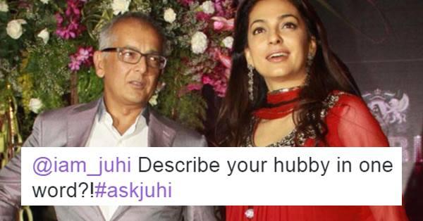 Bollywood Actress Juhi Chawla Calls Husband Jay Mehta 'Time
