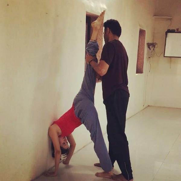 Vidya Malvade Flexible 8