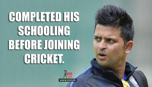 Educational Qualification Of Indian Cricketers raina