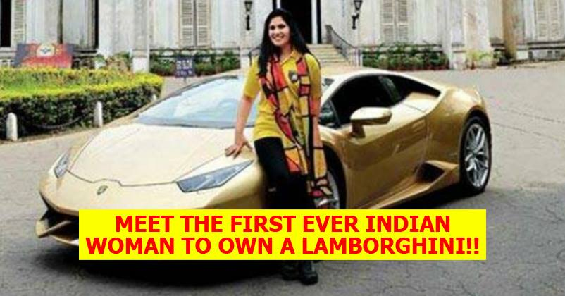 meet the first ever indian woman to own a lamborghini rvcj media. Black Bedroom Furniture Sets. Home Design Ideas