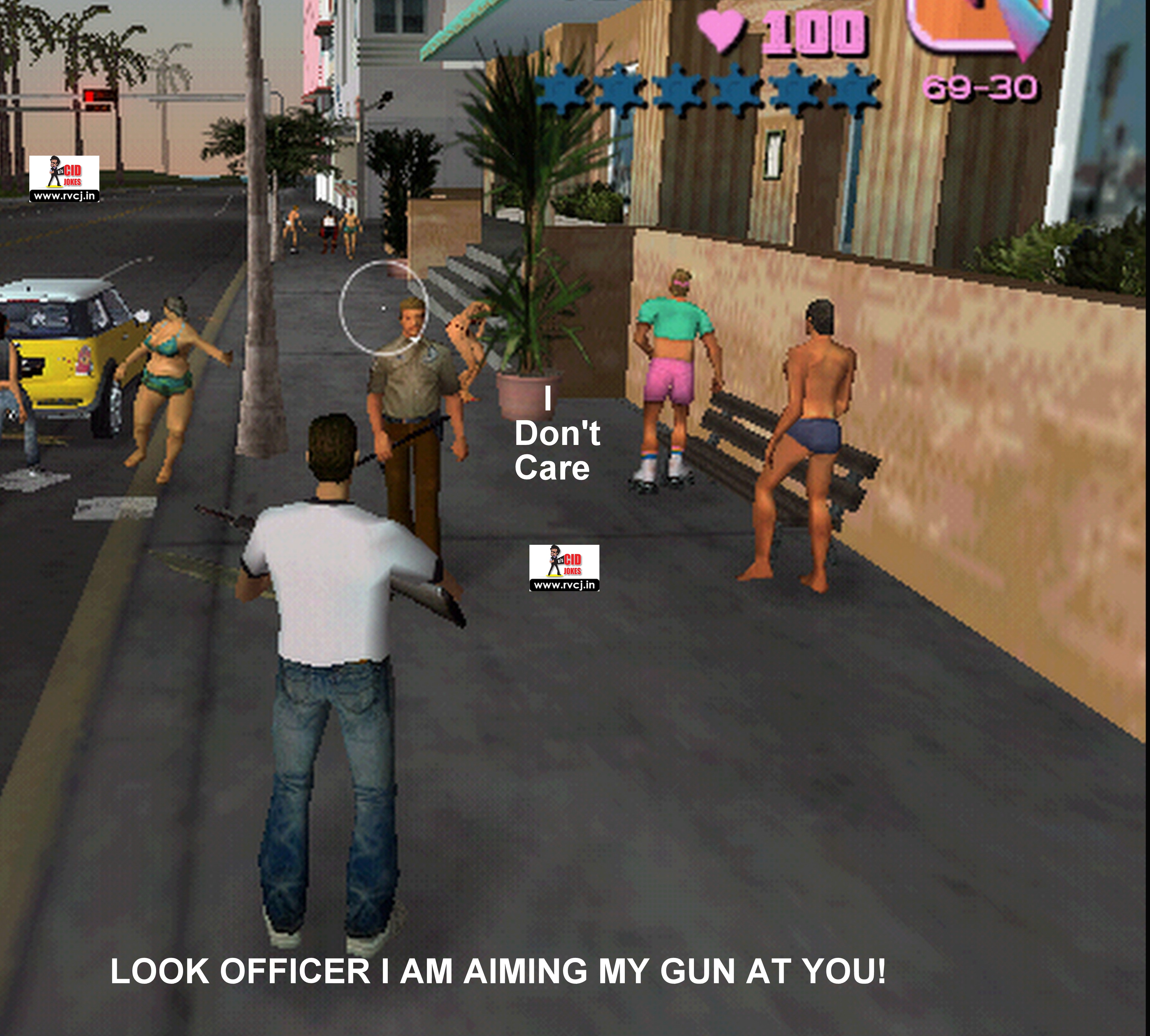 f police 10 gta vice city game memes that will make you go lol rvcj media