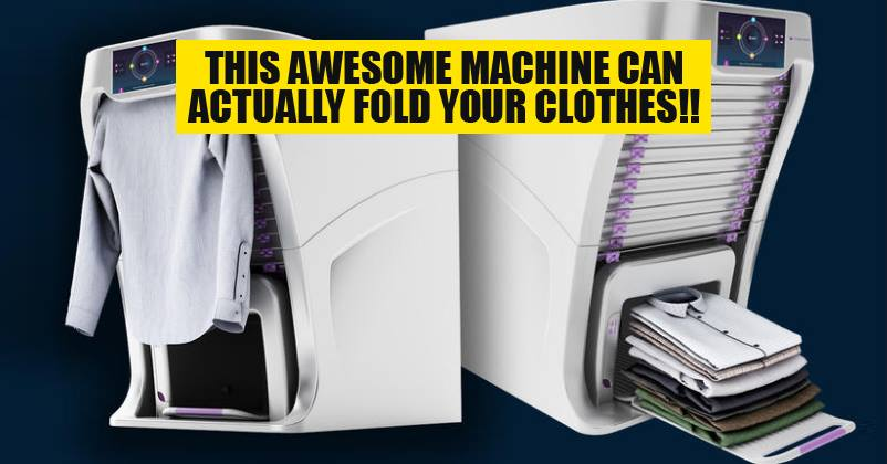 This Laundry-Folding Machine Is What We All Need But Can't ...