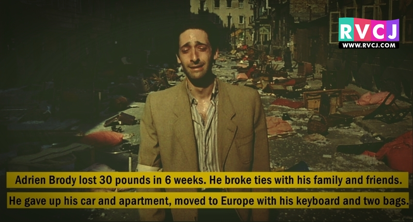10 Actors Who Went Too... Adrien Brody Play Piano