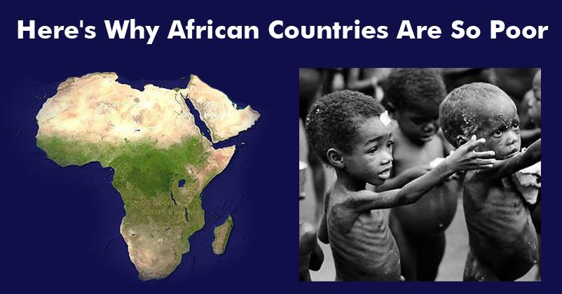 why is africa so poor Most people in africa may be poor myth 6: africa needs our help so the real reason why billions of people are hungry.