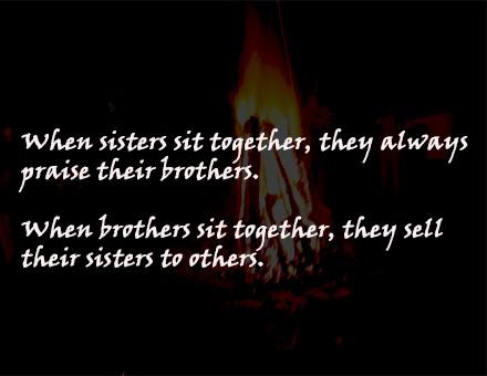 The harsh truth of the ' 'bond' between Afghan siblings.