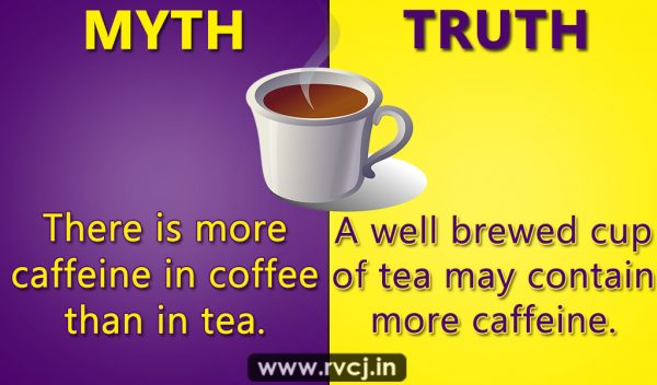 10 myths about drinks you must not believe rvcj media - Myths and truths about coffee ...