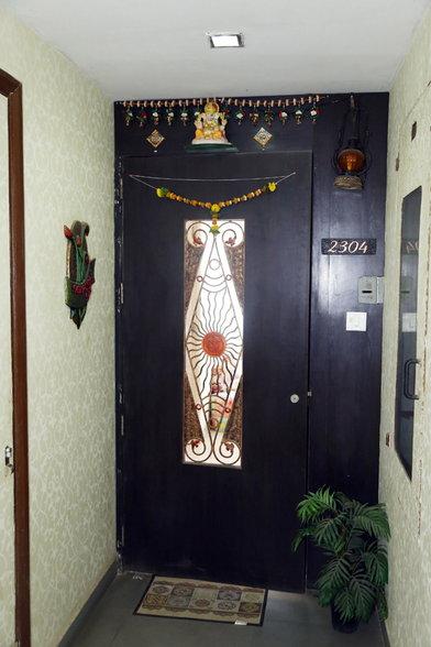 enterance of the home