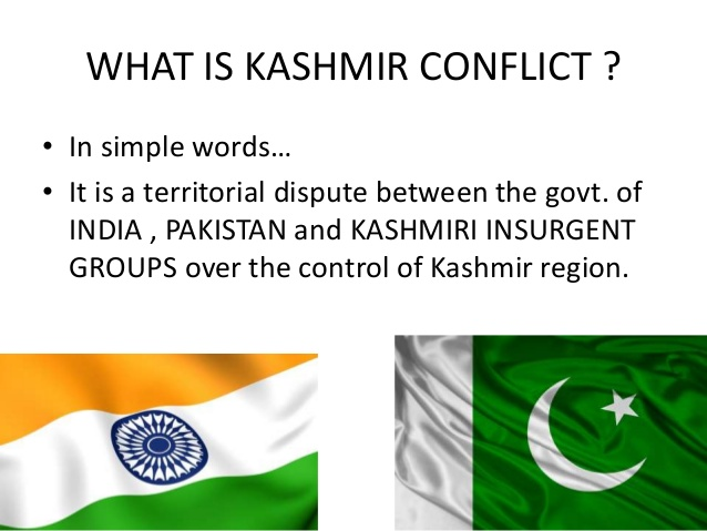 an analysis of the kashmir conflict between pakistan and india