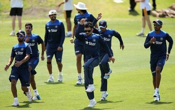 indian team training