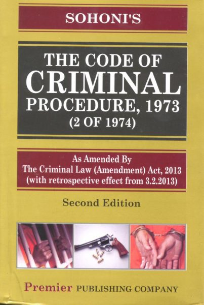 code of criminal proceding The code of criminal procedure, 1973 act no 2 of 1974 [25th january, 1974] an act to consolidate and amend the law relating to criminal procedure.