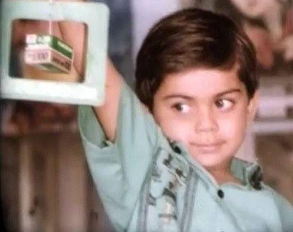 Virat's childhood photo
