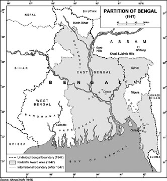 Lord Curzon and The Partition of Bengal