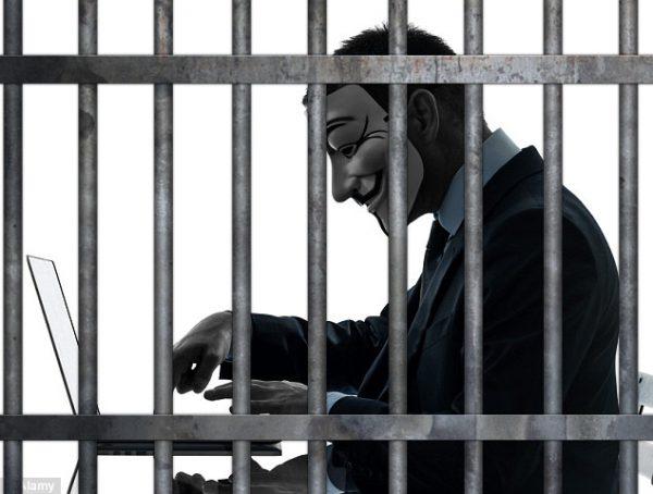 jail for torrent blocking