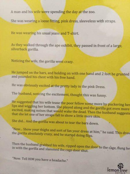 lemon tree hotel rape culture disgusting