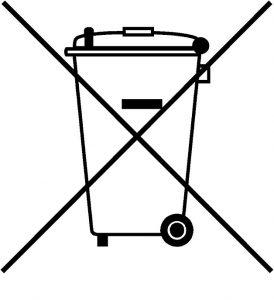 dustbin logo charger logo