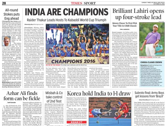 times of india Get the latest news from india, national news, business news, video news updates and world news.