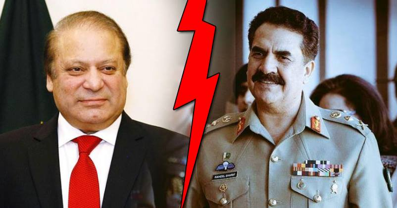 raheel sharif and nawaz relationship