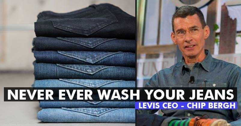 Ceo of levi s says not to wash your jeans here s why he gave this advice rvcj media - Levis ceo explains never wash jeans ...