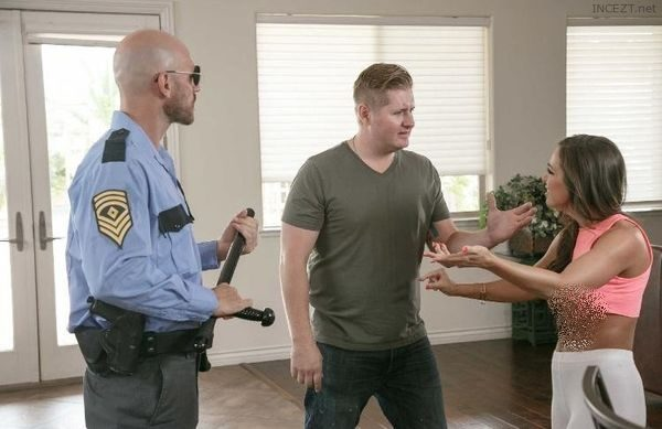 So Once When Officer Johnny Sins Received A Disturbance Call He Investigated The Matter Where He Found A Beautiful Woman Who Had Been Tormented And Abused