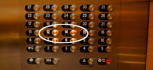 These hotels in mumbai do not have 13th floor the reason for 13 th floor elevator