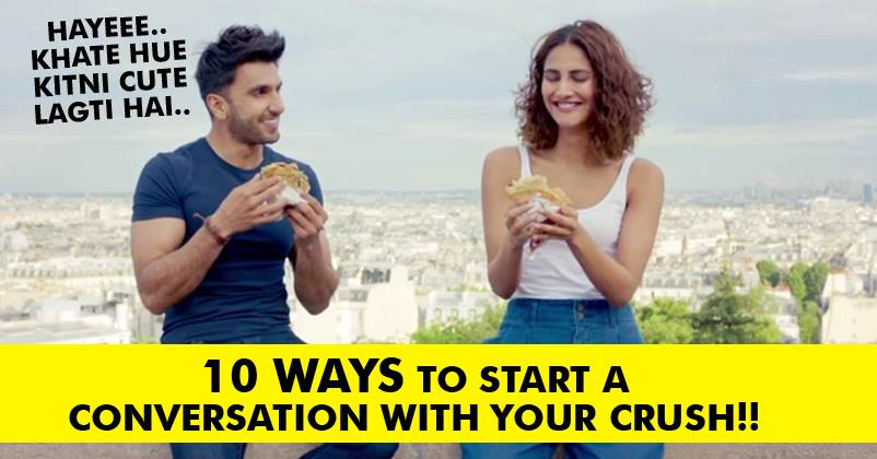 how to talk to your crush at work