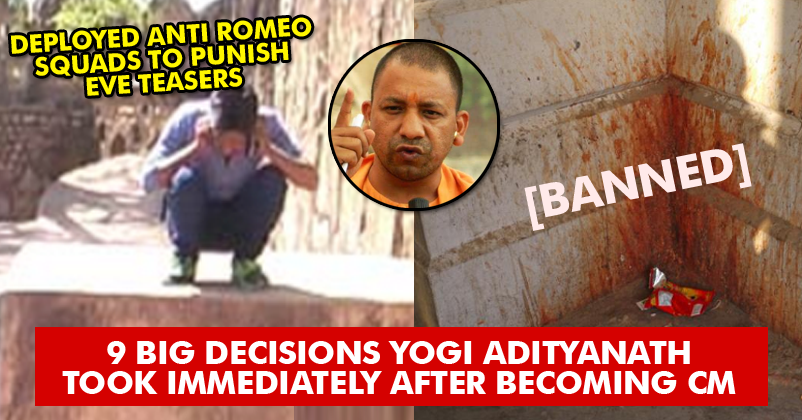 9 Things That Yogi Adityanath Did Right After Becoming The