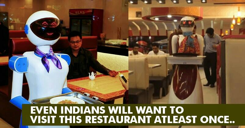 What a superb technology this pakistani pizzeria has a robot this pakistani pizzeria has a robot waitress to greet serve customers rvcj media m4hsunfo