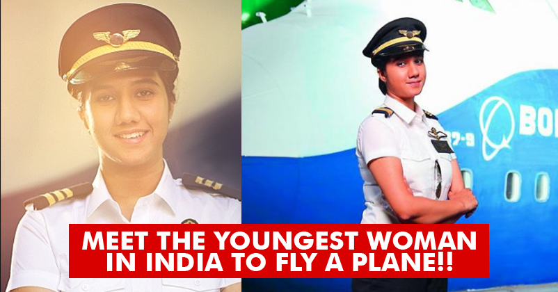 India's Youngest Pilot Who Got Her License When She Was Just 16 years