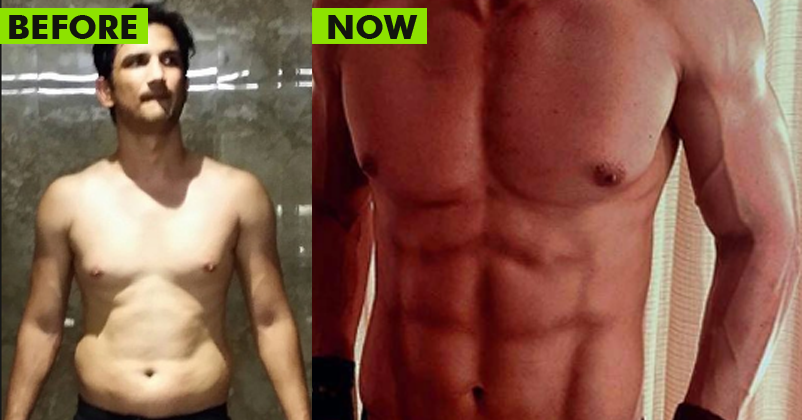 Transformation Alert! Sushant's 8 Pack Abs & That Too In ...