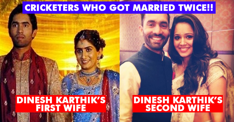 7 Indian And Pakistani Cricketers Who Married Twice! Some