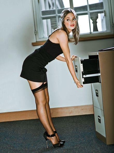 Girl hot office Office GIFs