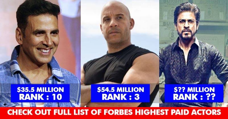 Forbes Released List Of Highest Paid Actors 2017! 3 ...