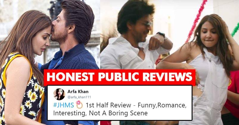 First Review Of Jab Harry Met Sejal Is Out! SRK & Anushka Are Winning Hearts