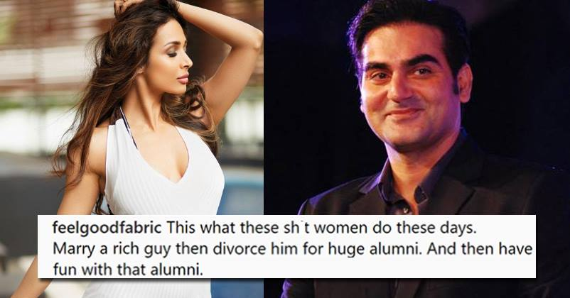 Malaika Arora Khan Gives A Fitting Reply To A Troll Who Alleged Her For Using Ex-Husband's Money