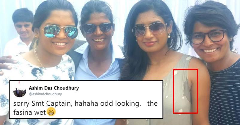 Image result for Indian Women Captain Mithali Raj trolled for sharing selfie on social media