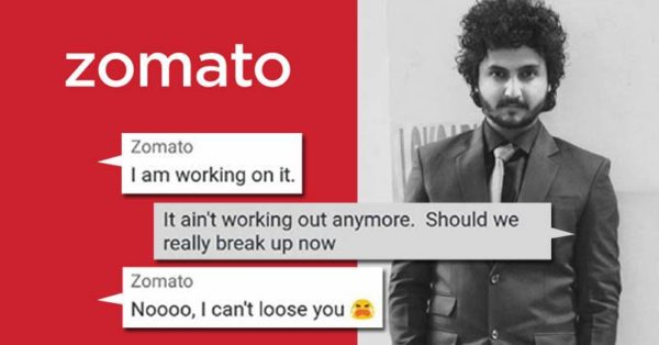 His Chat With Zomato Customer Care Is Hilarious \u0026 Flirty! , RVCJ Media