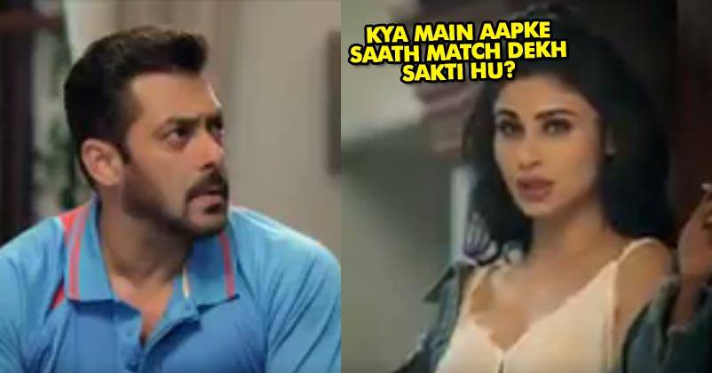 Salman Happily Welcomes Sexy Neighbor Mouni Roy Watch Video Rvcj Media