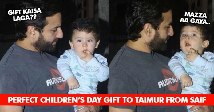 Even Many Rich People Can T Afford The Gift That Taimur