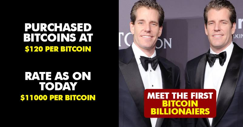 Winklevoss Twins Used Facebook Payout To Become World's First