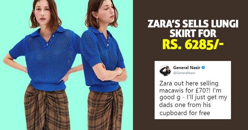 c1c72755fc11f Zara Is Selling Indian Lungi At A Whopping Price Of Rs 6