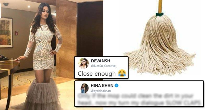 People Trolled Hina Khan Compared Her Dress With Broom She