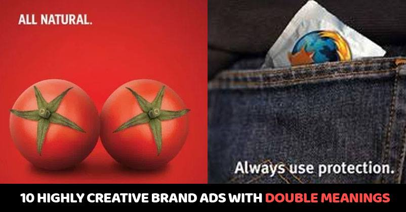 10 highly creative brand ads that have double meaning