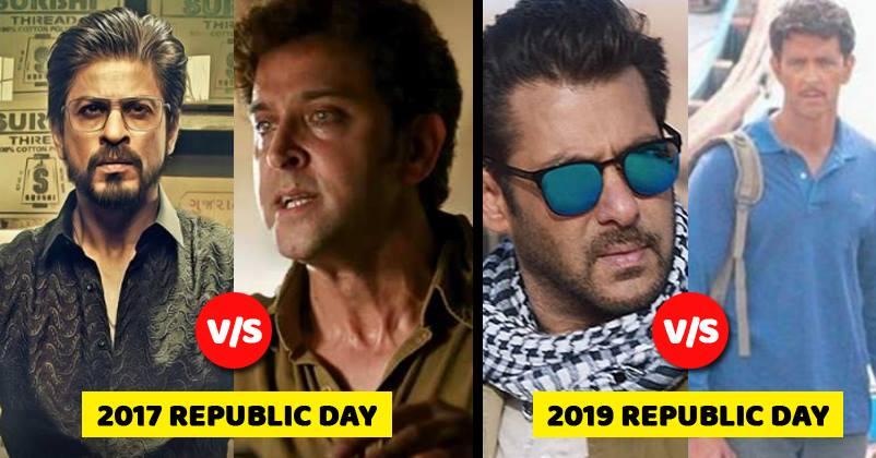 Salman Khan And Hrithik Roshan To Clash On Republic Day 2019