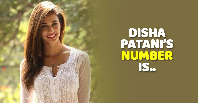 Disha Patani Shared Her Number On Instagram  Asked Fans To