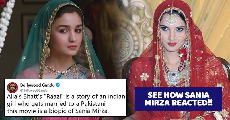 Twitter Compared Alia's Character In Raazi To Sania Mirza  This Is